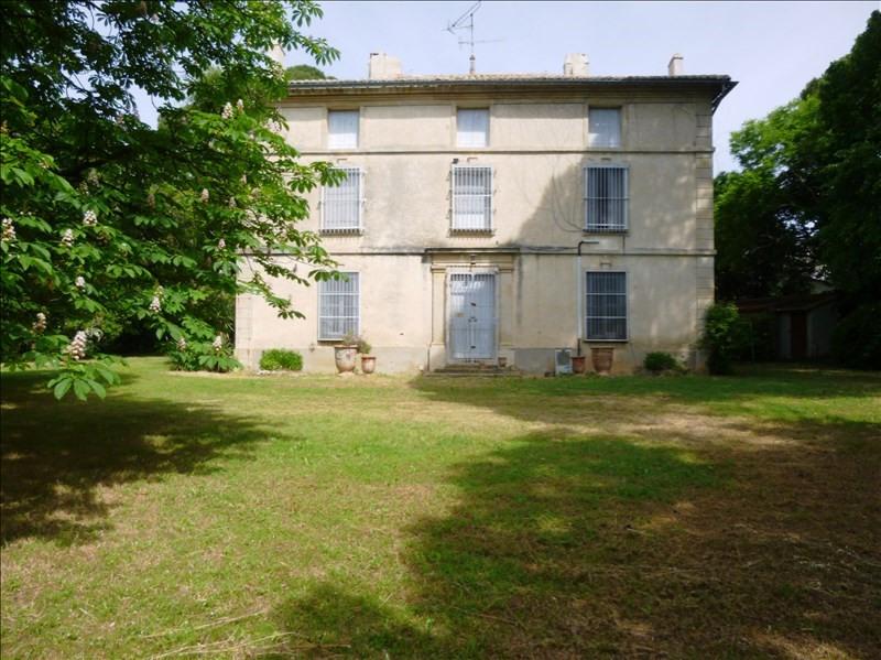 Vente de prestige maison / villa Bezouce 1200000€ - Photo 1