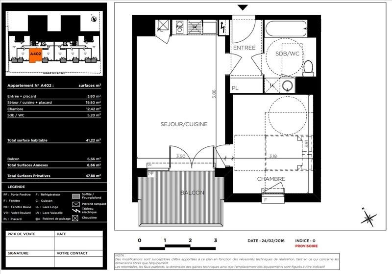 Vente appartement Toulouse 205000€ - Photo 9