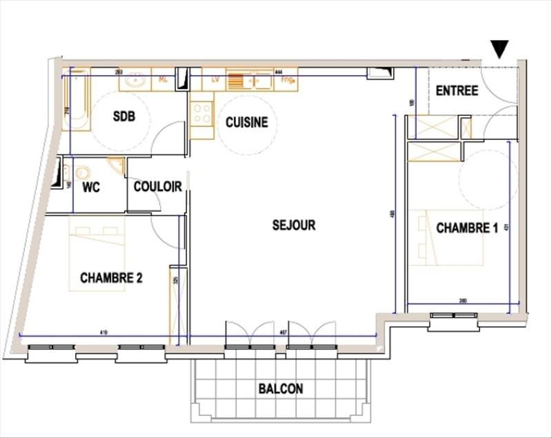 Verkoop  appartement L isle adam 480000€ - Foto 1