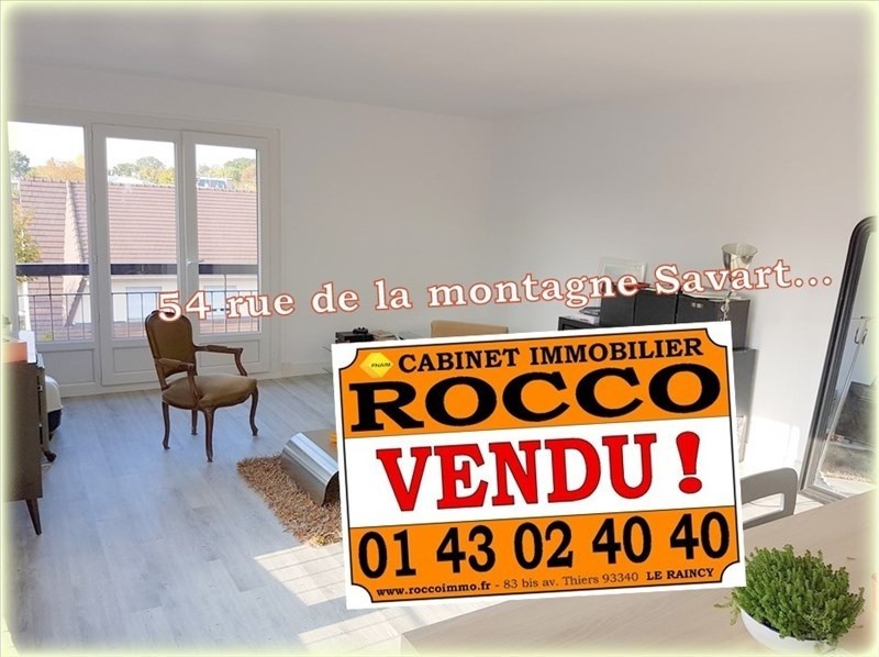 Sale apartment Villemomble 170 000€ - Picture 1