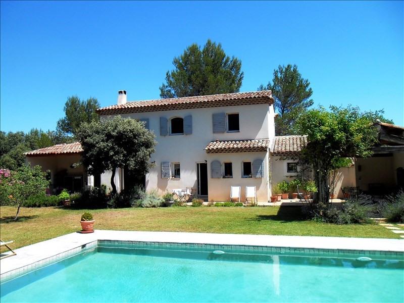 Vente de prestige maison / villa Jouques 630000€ - Photo 1