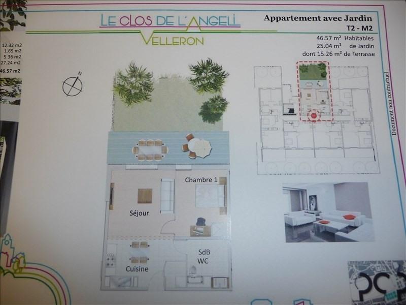 Produit d'investissement appartement Velleron 142500€ - Photo 2