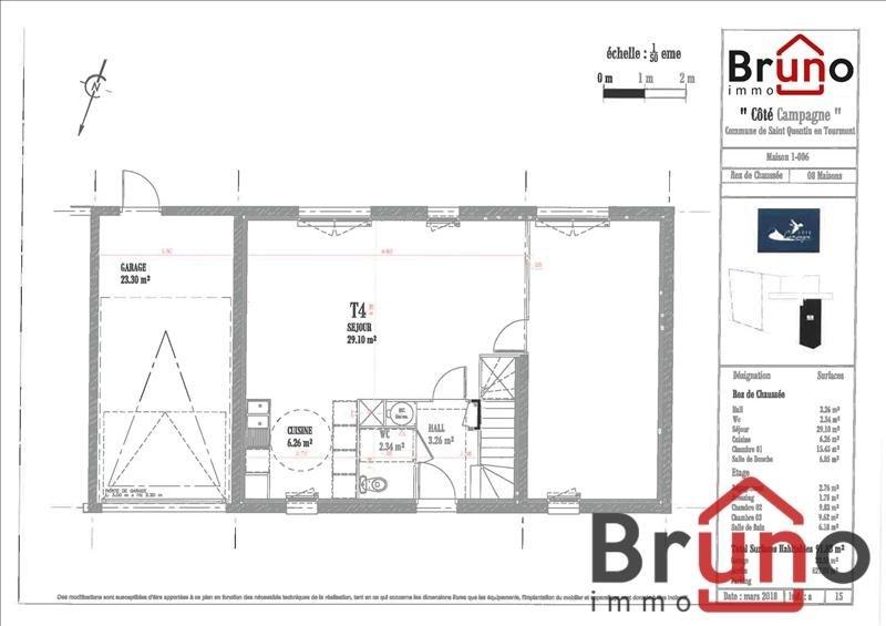 Vendita casa St quentin en tourmont 360000€ - Fotografia 6
