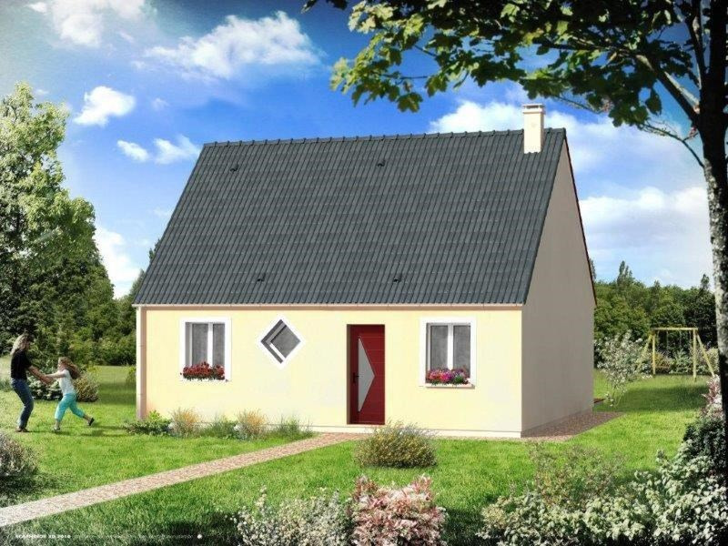 Maison  4 pièces + Terrain 630 m² Isneauville par RESIDENCES INTER ROUEN