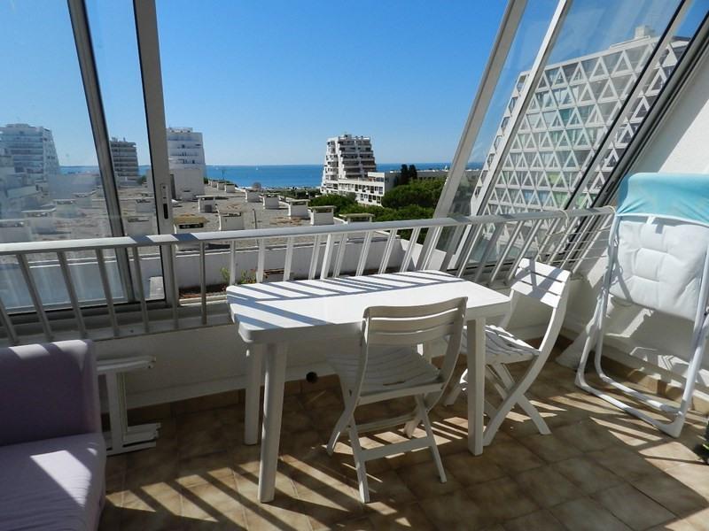 Location vacances appartement La grande motte 416€ - Photo 1