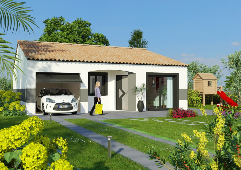 Maison  4 pièces + Terrain 401 m² Saint-Jean-Lasseille par MAISONS COTE SOLEIL
