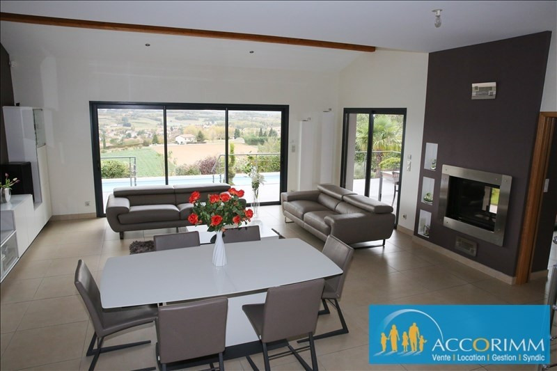 Deluxe sale house / villa Communay 916000€ - Picture 4