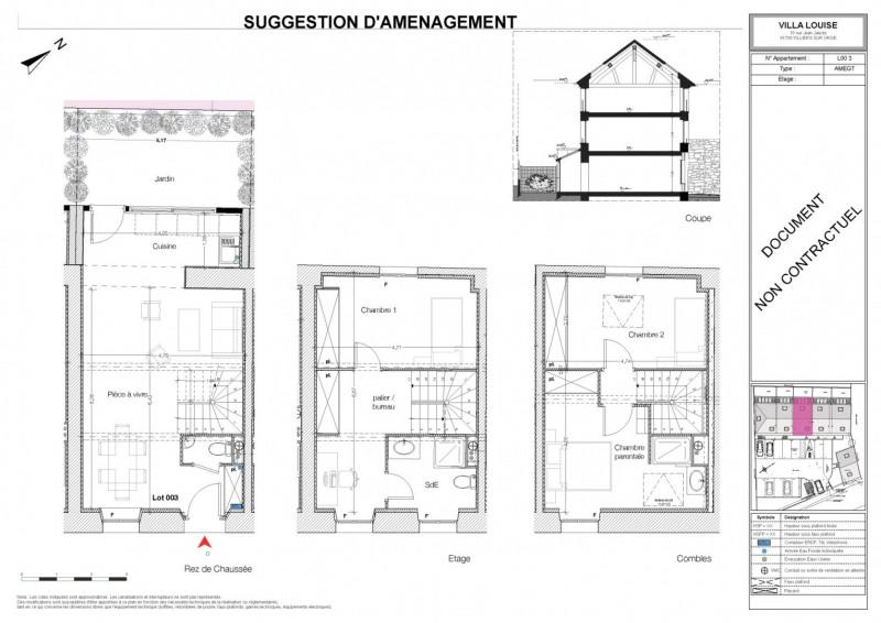 Sale house / villa Villiers sur orge 211120€ - Picture 3