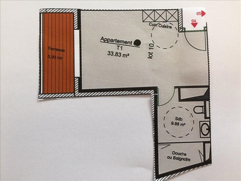 Venta  apartamento Charbonnieres les bains 182682€ - Fotografía 3