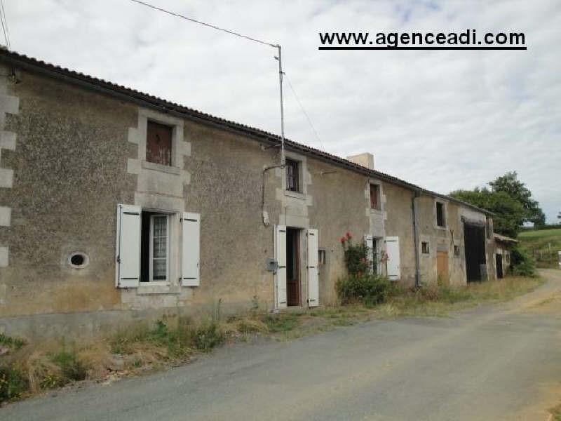 Vente maison / villa Secteur champdeniers 64800€ - Photo 1
