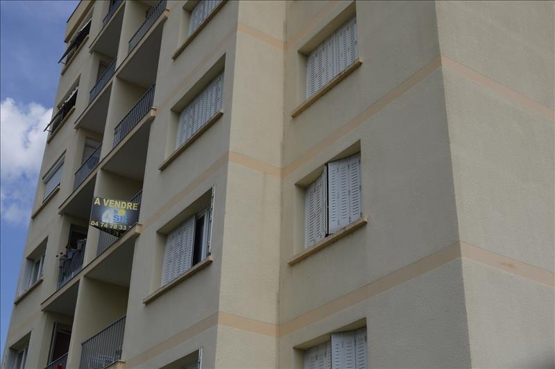 Verkoop  appartement Pont eveque 109000€ - Foto 7