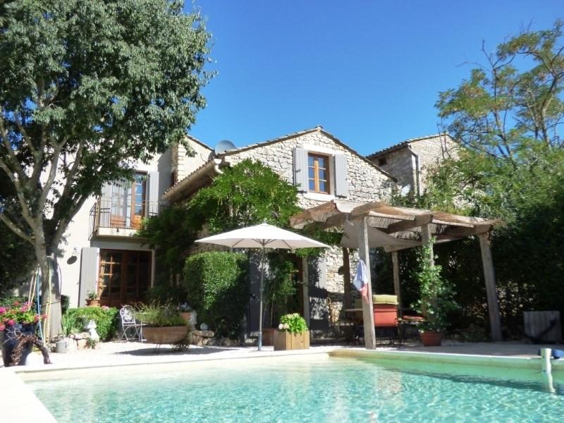 Deluxe sale house / villa Uzes 545000€ - Picture 1