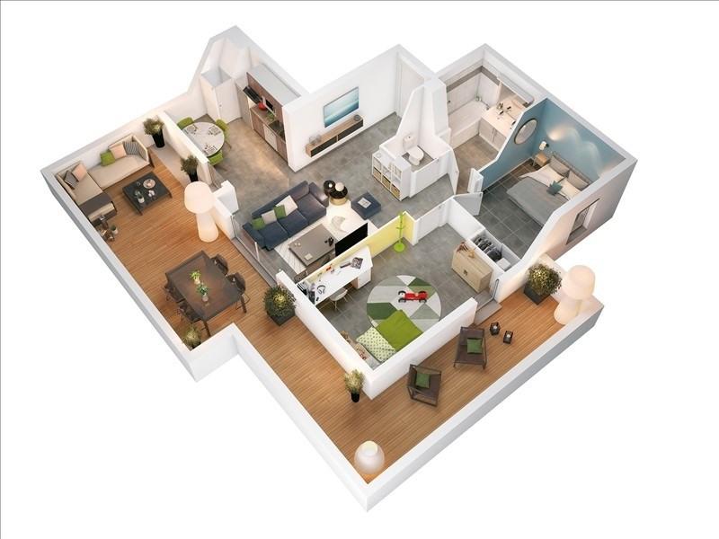 Vente appartement Toulouse 196000€ - Photo 3