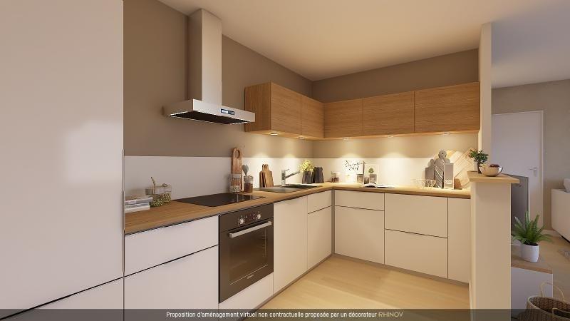 Sale apartment L hermitage 119500€ - Picture 3