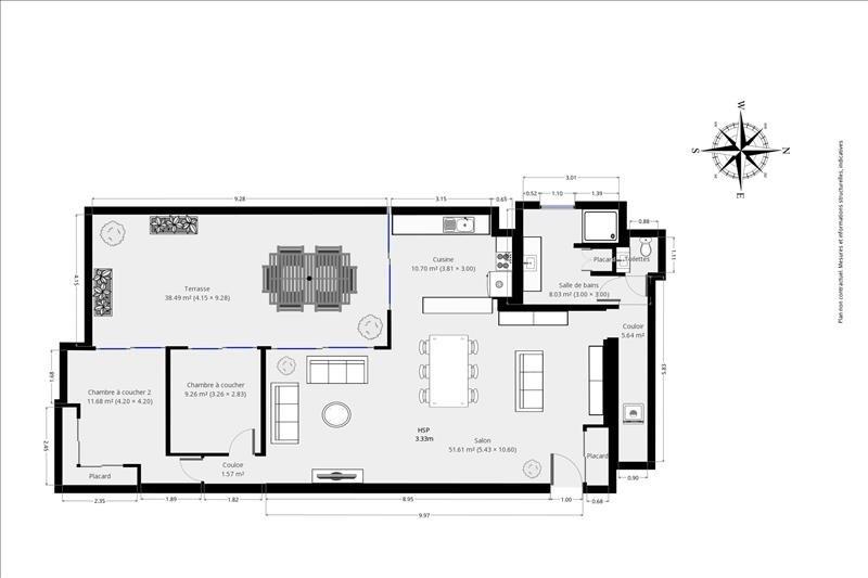 Venta  loft/taller/superficie Malakoff 799000€ - Fotografía 9