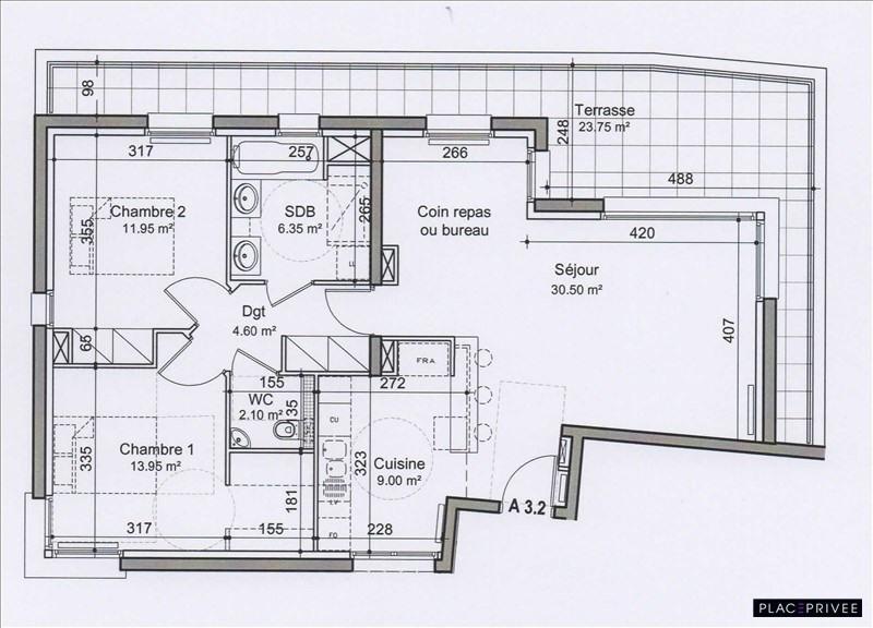 Venta  apartamento Nancy 280000€ - Fotografía 2