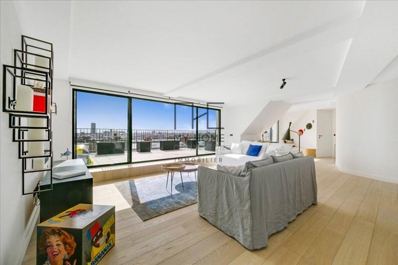 Vente de prestige appartement Paris 16ème 3640000€ - Photo 5