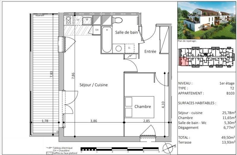 Vente appartement Toulouse 193000€ - Photo 6