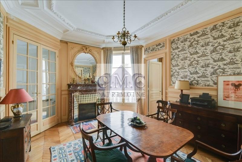 Revenda residencial de prestígio apartamento Paris 7ème 1965000€ - Fotografia 5