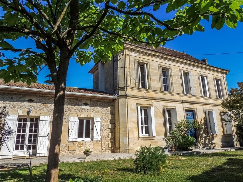 Vente maison / villa Saint christoly medoc 388000€ - Photo 1