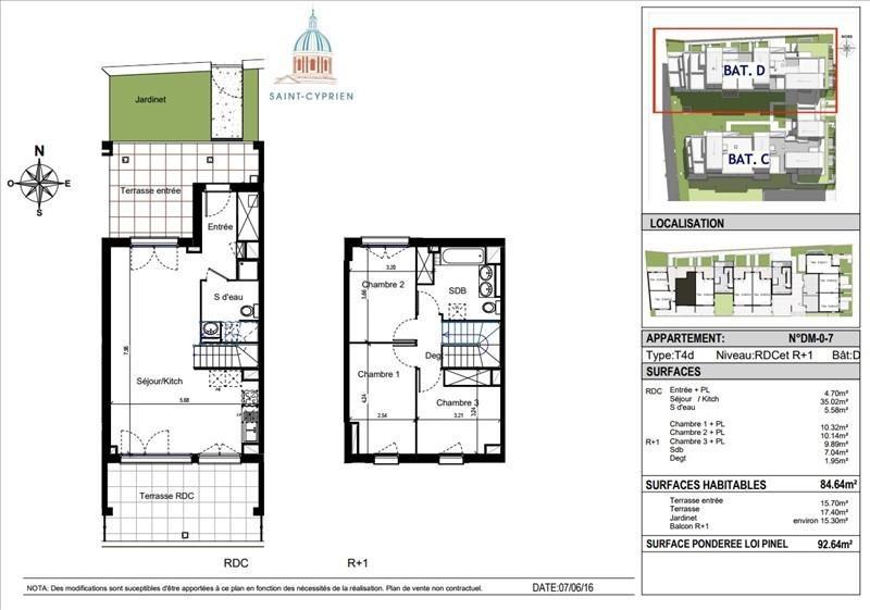 Vente maison / villa Toulouse 318000€ - Photo 3