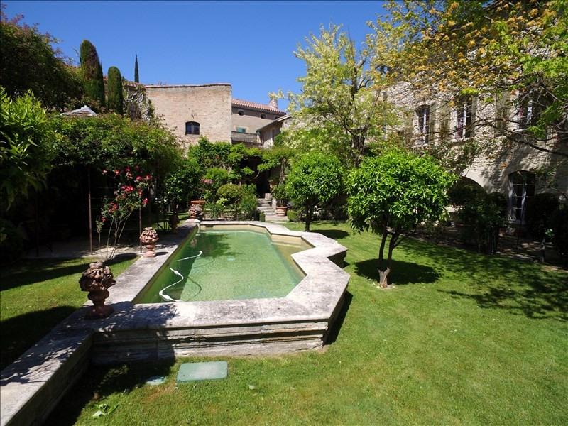 Verkoop van prestige  huis Villeneuve les avignon 3400000€ - Foto 2