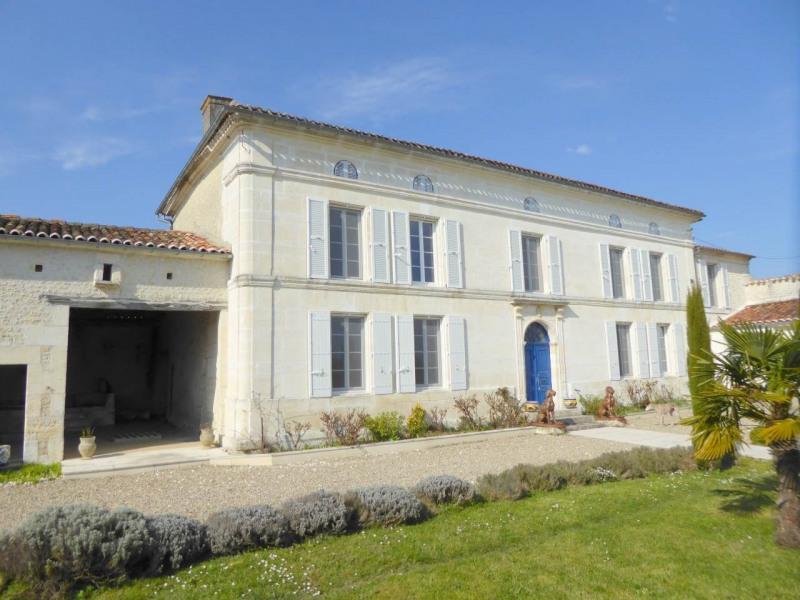 Vente de prestige maison / villa Lignières-sonneville 676000€ - Photo 1