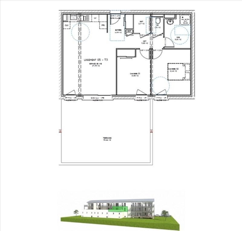 Sale apartment Montelimar 196912€ - Picture 3