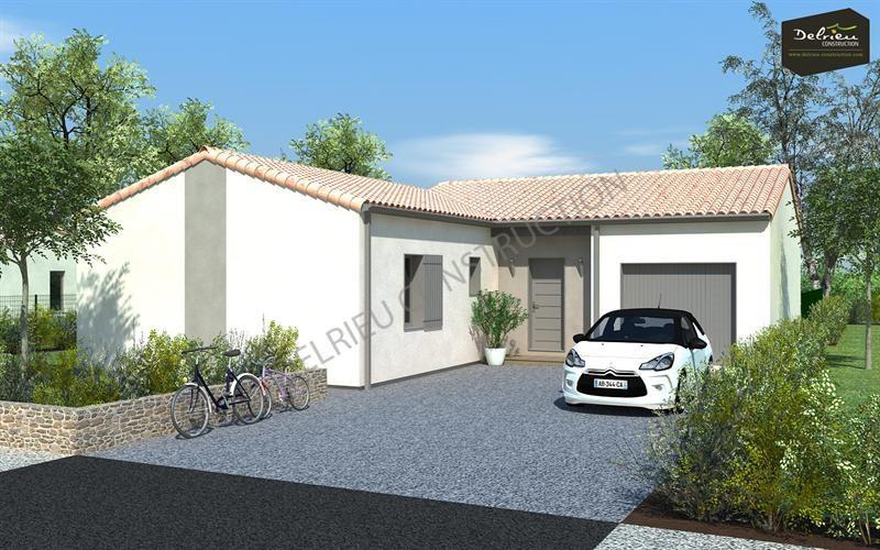 Maison  4 pièces + Terrain 392 m² Echiré par DELRIEU CONSTRUCTION