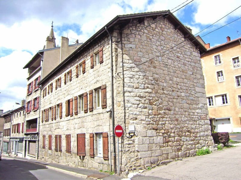 Location appartement Tence 370,79€ CC - Photo 1