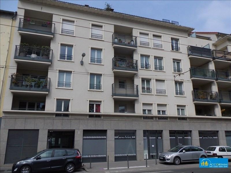 Vente appartement Villeurbanne 278000€ - Photo 1