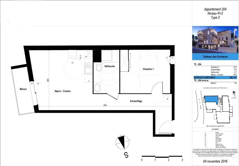 Vente appartement Boucau 157200€ - Photo 2