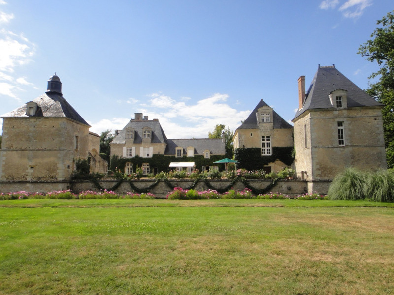 Revenda residencial de prestígio castelo Semblancay 3300000€ - Fotografia 1