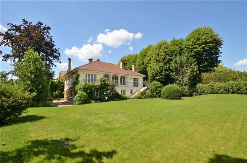 Revenda residencial de prestígio casa Croissy sur seine 2190000€ - Fotografia 2