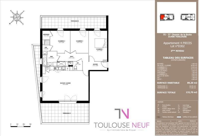 Vente appartement Toulouse 378800€ - Photo 7