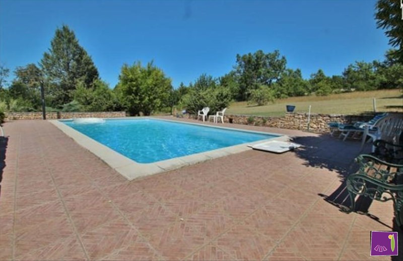 Deluxe sale house / villa Barjac 542000€ - Picture 1