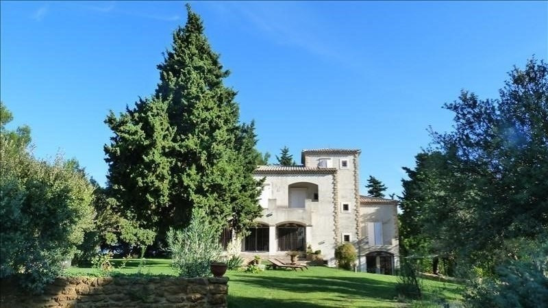 Deluxe sale house / villa Vacqueyras 750000€ - Picture 1