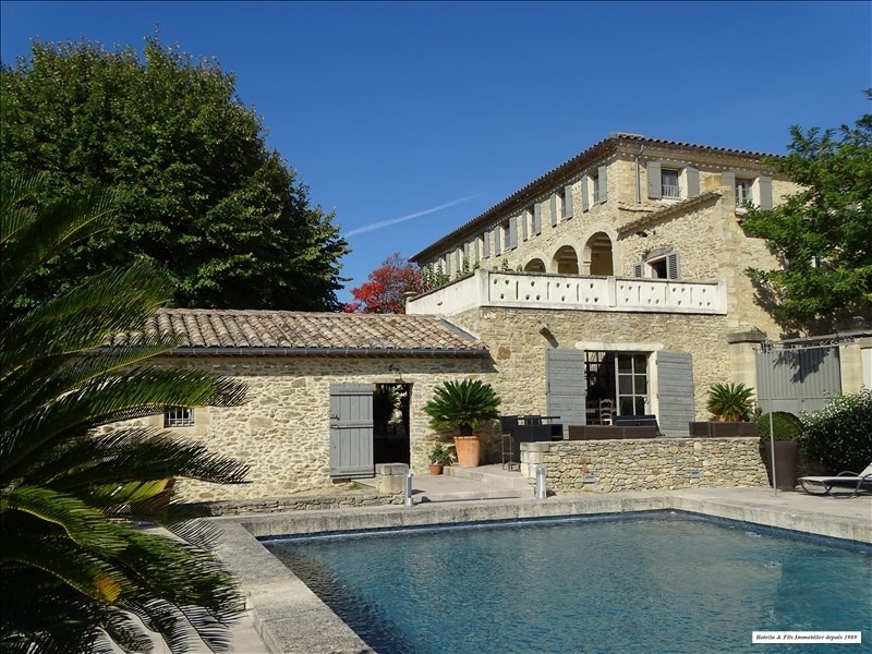 Deluxe sale house / villa Uzes 2 195 000€ - Picture 1