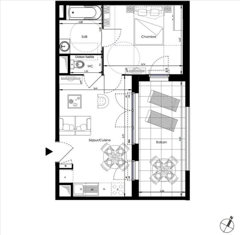 Vendita appartamento La londe les maures 194000€ - Fotografia 1