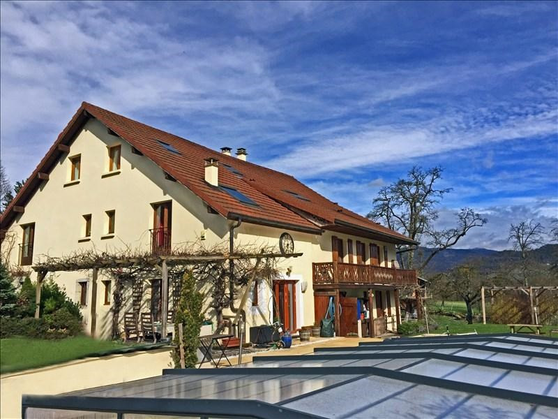 Deluxe sale house / villa Peillonnex 790000€ - Picture 1