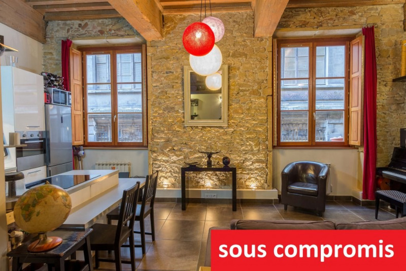 Vente appartement Lyon 1er 220000€ - Photo 1