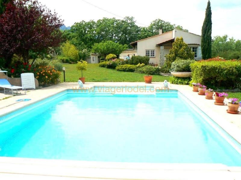 Vendita nell' vitalizio di vita casa Brignoles 94000€ - Fotografia 1
