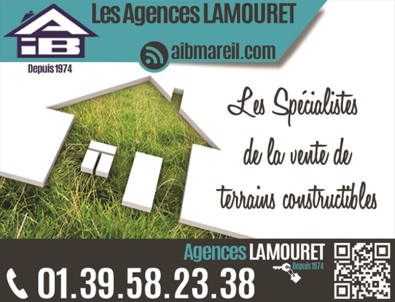 Sale site Orgeval 296 488€ - Picture 1