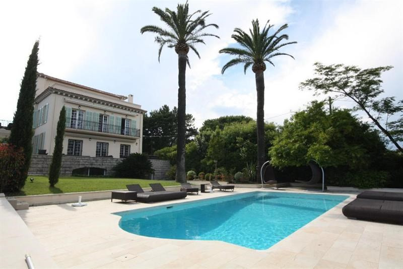 Vacation rental house / villa Cap d'antibes  - Picture 1