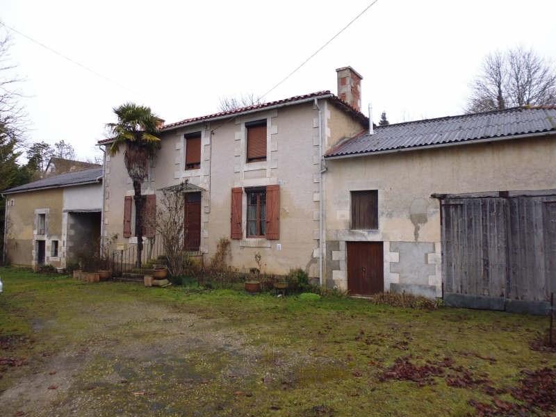 Vente maison / villa Migne auxances 173500€ -  2
