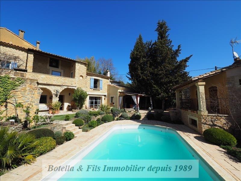 Deluxe sale house / villa Uzes 790000€ - Picture 1