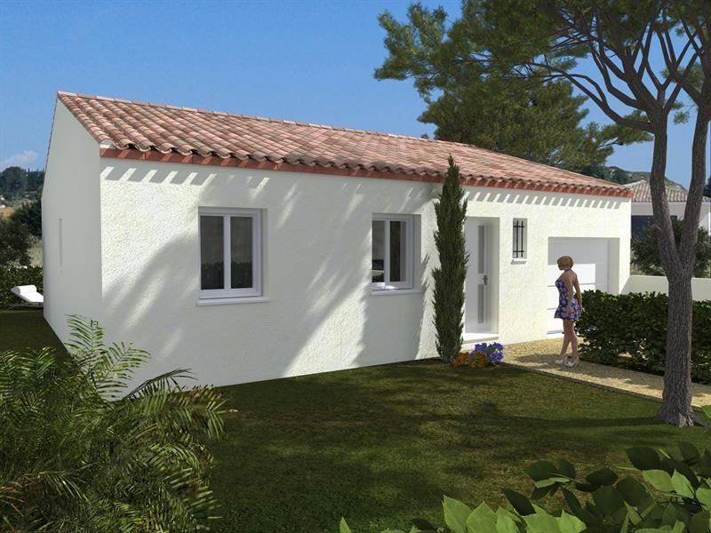 Maison  4 pièces + Terrain 366 m² Lézignan-Corbières par Domitia Construction