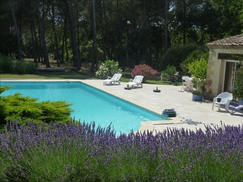Verkauf von luxusobjekt haus St cannat 990000€ - Fotografie 9