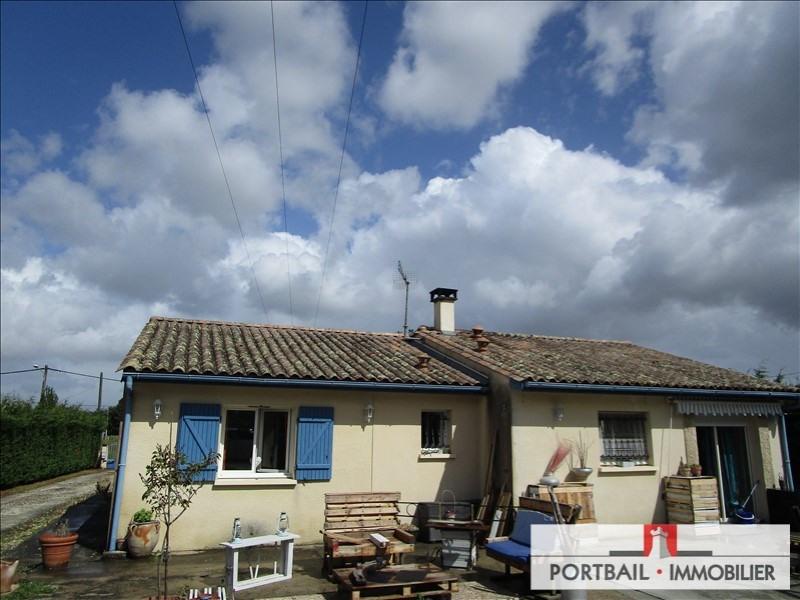 Sale house / villa Cartelegue 148200€ - Picture 1