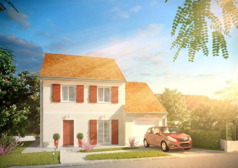 """Modèle de maison  """"Grand Nacré 4.104 GI"""" à partir de 5 pièces Essonne par A&A CONSEIL"""